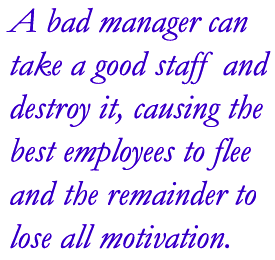 poor leadership planning leaves many employers 16 responses to 7 reasons why employees leave:  due to the poor leadership within the company  something an employer can control leaders can and should .